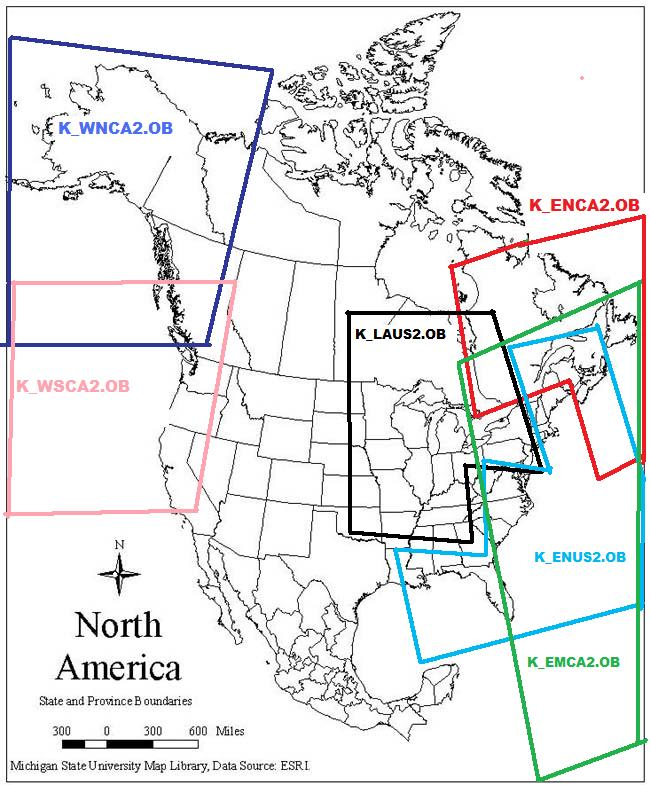 Map Of Canada East And West.St Lawrence River Gulf North Eastern Canada K Enca2 Ob